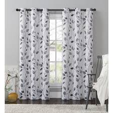 95 Inch Shower Curtain Vcny Home Leaf Window Curtain 84 95 Or 108 Inch Panel Free