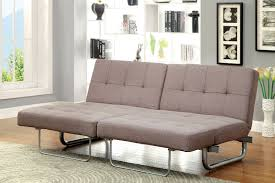 Tufting Sofa by Furniture Of America 2704 Brown Contemporary Adjustable Sofa Bed Futon