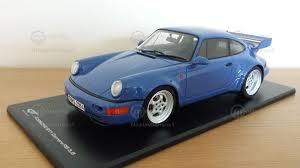 porsche 964 rs porsche 911 964 carrera rs 3 8 modelcar gt spirit 1 18 in blue