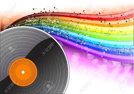 photo arri e plan bureau arrière plan de la musique avec le bureau de vinyle clip libres