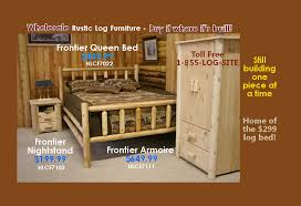 Pictures Of Log Beds by Log Furniture Rustic Log Beds Nationwide Wholesale Cabin U0026 Commercial