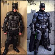 halloween d upgraded my batsuit this year rebuilt it from scratch and what a