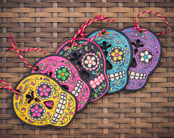 dia de los muertos ornament sugar skull ornament