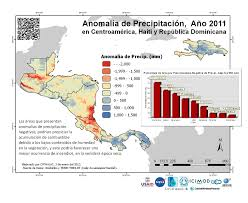 Central America And The Caribbean Map by Servir Analysis Major Precipitation Events In Central America And
