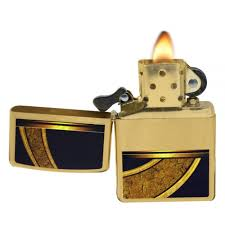 zippo design zippo 28673 gold and black design brushed brass windproof pocket