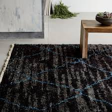 How To Clean A Fluffy Rug Steven Alan Solid Wool Shag Rug Oatmeal West Elm
