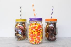 happy halloween mason jar gift yesterday on tuesday