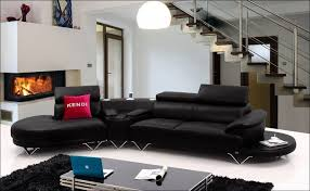 White Leather Sectional Sofa With Chaise Living Room Marvelous Black And White Leather Sectional Black