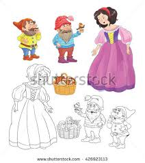 snow white dwarfs stock images royalty free images