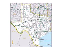 Texas Highway Map Maps Of Texas State Collection Of Detailed Maps Of Texas State