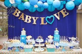 baby shower table ideas baby shower table decorations 31 ba shower dessert table dcor