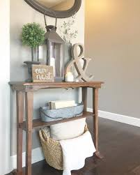 Entry Table Ideas Best 25 Tables Pinterest In Decor 15