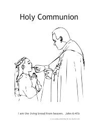 sacraments coloring pages