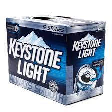keystone light vs coors light keystone light 12oz can 12 pack beer wine and liquor