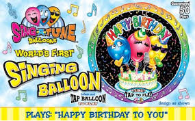 singing balloon sing a tune singing foil balloons are here brought to you by