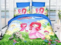 Twin Bedding Sets Girls by Online Get Cheap Strawberry Shortcake Twin Bedding Set Aliexpress