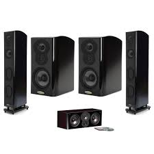 polk home theater speakers polk lsi m 5 to 7 speaker bundles w or w o yamaha rx a2060 9 2 ch