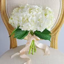 hydrangea wedding bouquet white hydrangea bridesmaid bouquet flower moxie