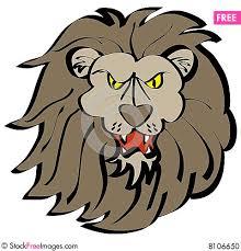 cartoon lion face free stock photos u0026 images 8106650