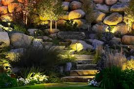 Backyard Lighting Ideas Pathway And Step Lighting Ideas And Pictures