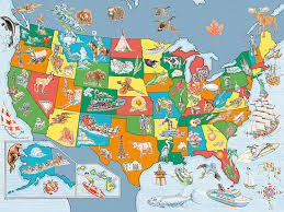 us map puzzle usa map puzzle 100 pieces