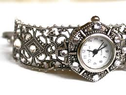 ladies watches bracelet style images Silver women watch filigree bracelet watch for women ladies jpg