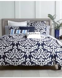 Charter Club Down Alternative Comforter On Sale Now 40 Off Charter Club Damask Designs Navy 3 Pc King