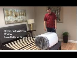 dream bed mattress review the mattress in a box from mattress firm