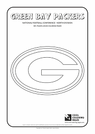 green bay packers u2013 nfl american football teams logos coloring