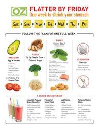 a sample 5 day mini fast meal plan the dr oz show dr oz 2