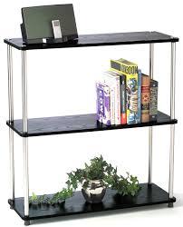 Tiered Bookshelf Free Standing Storage And Display Shelves Organize It