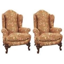 Wing Back Armchairs Victorian Wingback Chairs 13 For Sale At 1stdibs