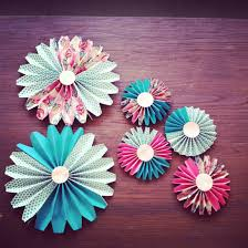 paper decorations how to make paper fan decorations parenting living and