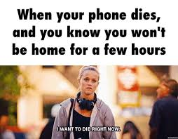 Dead Phone Meme - the new iphone update is driving me insane her cus