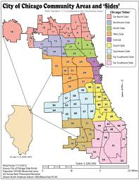 40th ward chicago map community areas in chicago