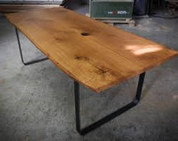 Red Oak Table by Red Oak Table Modern Dining Table On Steel Legs With