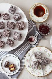 mini australian lamingtons recipe bumpkin betty