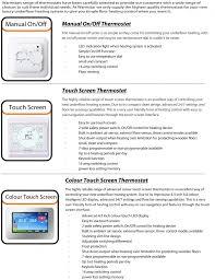 electric underfloor heating mat kit 200w per m2 1 0m2 org warmstar