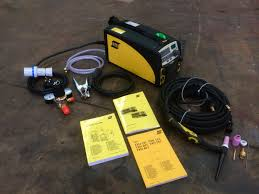 esab caddy tig 2200i ta33 or ta34 pulsed tig welder inverter