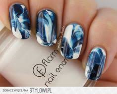 50 best nail art designs from instagram dark blue nails blue