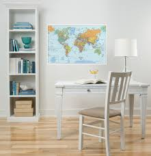 world map dry erase removable wall decal wall2wall world map dry erase removable wall decal