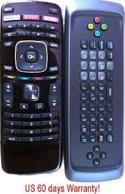 amazon com brand new vizio smart tv vizio alpha keyboard remote