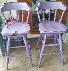 grey wooden shabby chic breakfast bar stools kitchen pinterest