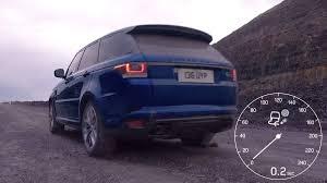range rover svr range rover svr sprints to 100 kph on all terrain