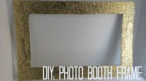 photo booth diy diy photo booth frame