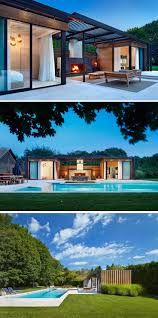 Pool House Ideas by Best 25 Modern Pool House Ideas On Pinterest Prefab Pool House