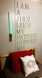 Bedroom Wall Decor Crafts Bedroom Star Wars Wall Decor Diy Star Wars Decor Star Wars
