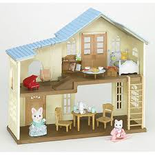 Calico Critters Bathroom Set Calico Critters Sylvanian Families House Of Breeze Hill Figures