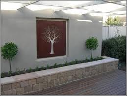 25 Beautiful Fence Art Ideas by Garden Wall Art Roselawnlutheran