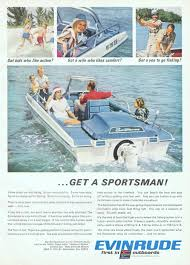 evinrude outboard motors advertisement gallery